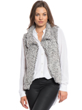 [True Grit Women's Solid Frosty Tipped Cozy Vest]