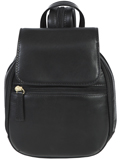 [Scully Vegetable Tanned Calf Mini Leather Backpack]