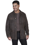 [Mens Scully Men's Featherlite Suede Jacket]