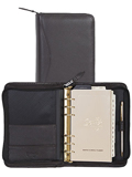 [Scully Soft Plonge Zip Weekly Organizer]