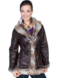 [Honey Creek by Scully Ladies Faux Shearling Jacket]