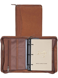 [Scully Canyon Leather Zip Weekly Organizer]