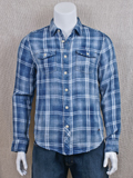 [True Grit� Men's Winslow Plaid Double Weave Cotton Shirt]
