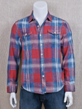 [True Grit� Men's Cajon Plaid Cotton Shirt]