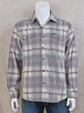 [True Grit� Men's Wayfair Cotton Plaid Corduroy Overshirt]