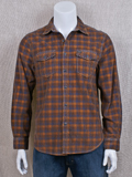[True Grit� Men's Baja Plaid Corduroy Cotton Overshirt]