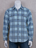 [True Grit� Men's Malibu Cotton Plaid Corduroy Overshirt]
