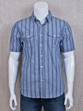 [True Grit� Men's Mesa Stripe Shirt]