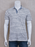 [True Grit� Men's Royal Grey Polo]