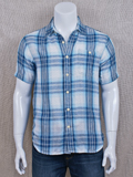 [True Grit� Men's Rincon Check Double Weave Shirt]