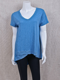 [True Grit Women's Asymmetrical V-Neck Tee]