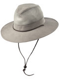 [Dorfman Pacific Men's Twill Safari Hat]