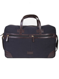 [Scully Berkeley Canvas Leather Trim Laptop Duffle Workbag]