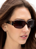 [Brighton Women's Crystal Voyage Sunglasses]