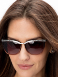[Brighton Women's La Scala Fade Sunglasses]