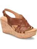 [Kork-Ease Adelanto Full Grain Leather Wedge Sandal]