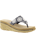 [Volatile Footwear Kid's Allura Lacey Strap Thong Sandal]