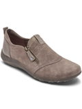 [Cobb Hill by Rockport Amalie Zipper Leather Slip-On Shoe]