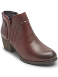 [Cobb Hill by Rockport Anisa V-Cut Leather Bootie]