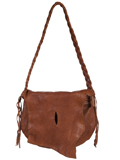 [Scully Lamb Soft Leather Handbag]