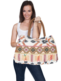 [Cantina by Scully Multi Colored Beaded Handbag]