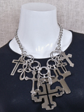 [Coreen Cordova Jewelry Cross Necklace]