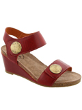 [Taos Footwear Women's Carousel 2 Portugal Wedge Sandal]