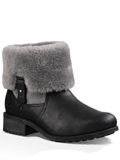 [UGG� Footwear Women's Chyler Twinface with Water-Resistant Leather Boot]