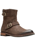 [Clarks® Men's Clarkdale Cash Nubuck Buckle Boot]