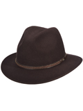 [Dorfman Pacific Men's Felt Safari Hat]