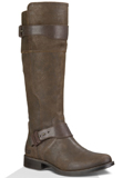 [UGG� Footwear Women's Dayle Distressed Brushed Leather Boot]