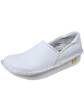 [Alegria�  Women's Alegria Debra White Leather Professional Nursing Shoe]
