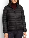 [Tumi� Women's Clairmont Packable Travel Puffer Jacket]