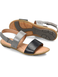 [Born� Women's Fleet Full Grain Leather Sandal]