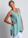 [Chalet Women's Skye Hemp Cotton Mineral Wash Tank]