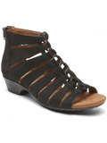 [Cobb Hill by Rockport Women's Gabby Gladiator Bootie Sandal]