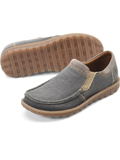 [Born� Men's Gudmund Fabric and Leather Combo Shoe]