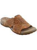 [Taos Footwear Women's Guru Intertwined Leather Sandal]