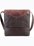 [Hidesign by Scully Handstained Calf Messenger Bag]