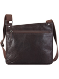 [Hidesign by Scully Berkeley Leather Messenger Handbag]