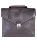 [Hidesign by Scully Milano Leather Briefcase]