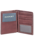 [Hidesign by Scully Berkeley Leather Passport Wallet]