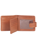[Hidesign by Scully Ranchero Calf Tab Hipster Wallet with ID Window]