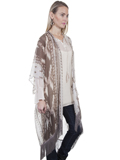 [Honey Creek by Scully Aztec Fringe Kimono]
