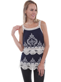 [Honey Creek by Scully Crochet Lace Tank]