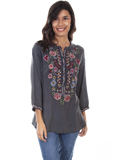 [Honey Creek by Scully Embroidered Front Tunic]
