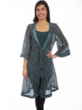 [Honey Creek by Scully Floral Lace Cardigan]
