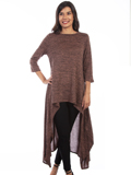 [Honey Creek by Scully Hi Lo Drape Pullover Top]