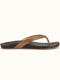 [OluKai�  Women's Hi'ona Textured Leather Thong Sandal]
