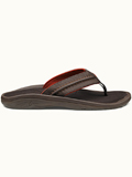 [OluKai� Men's Hokua Water Resistant Synthetic Leather Flip Flop Thong Sandal]
